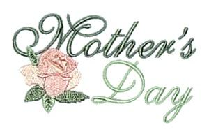 Mother's Day with Flower Embroidery Designs:CD040505TA